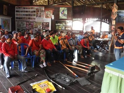 Sungai Wain - hasičský tým