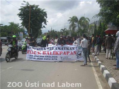 Demonstrace Balikpapan Bay